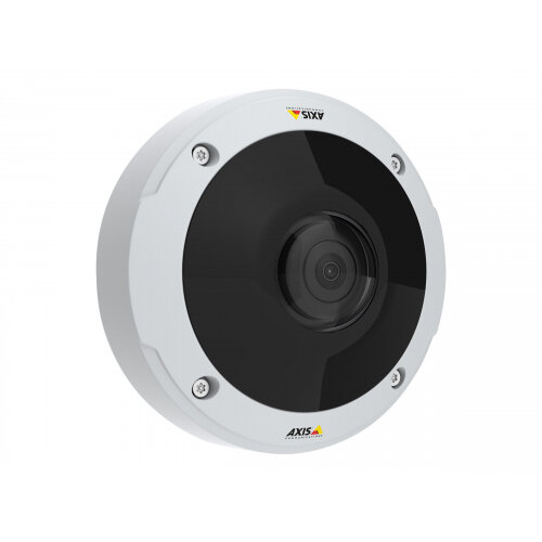 AXIS M3057-PLVE Network Camera - Network surveillance camera - dome - outdoor - dustproof / waterproof / vandal-proof - colour (Day&ight) - 6 MP - 3072 x 2048 - 1080p - fixed iris - fixed focal - HDMI - LAN 10/100 - MJPEG, H.264, MPEG-4 AVC - PoE Plus