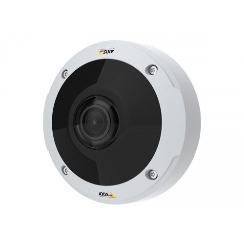 AXIS M3058-PLVE Network Camera - Network surveillance camera - dome - outdoor - dustproof / waterproof / vandal-proof - colour (Day&ight) - 12 MP - 3584 x 2668 - 1080p - fixed iris - fixed focal - HDMI - LAN 10/100 - MJPEG, H.264, MPEG-4 AVC - PoE