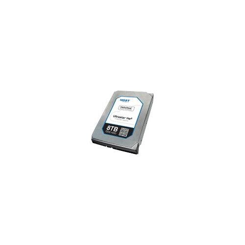 """HGST Ultrastar He8 HUH728080AL5204 - Hard drive - 8 TB - internal - 3.5"""" - SAS 12Gb/s - 7200 rpm - buffer: 128 MB"""