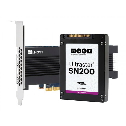 "HGST Ultrastar SN200 HUSMR7619BDP3Y1 - Solid state drive - 1.92 TB - internal - 2.5"" SFF - PCI Express 3.0 x4 (NVMe)"