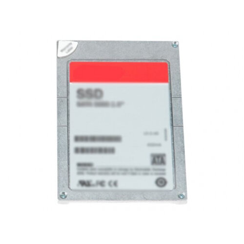 "Dell - Solid state drive - 400 GB - internal - 2.5"" - SAS 12Gb/s - for PowerEdge R630 (2.5""), R730 (2.5""), R730xd (2.5""), T630 (2.5"")"