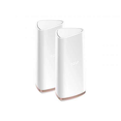 D-Link Covr Whole Home - Wi-Fi system (2 extenders) - up to 550 sq.m - mesh - 802.11a/b/g/n/ac - Tri-Band