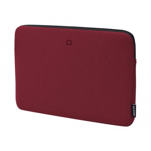 "Dicota Skin BASE - Notebook sleeve - 13"" - 14.1"" - red"