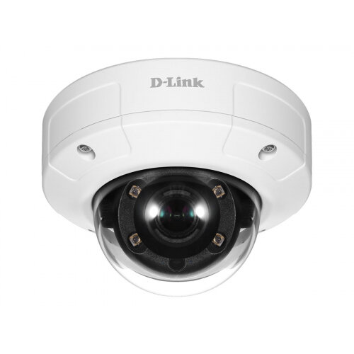 D-Link DCS 4633EV - Network surveillance camera - outdoor, indoor - dustproof / waterproof / vandal-proof - colour (Day&Night) - 3 MP - 2048 x 1536 - fixed focal - MJPEG, H.264, H.265 - PoE