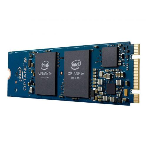Intel Solid-State Drive 800p Series - Solid state drive - 118 GB - 3D Xpoint (Optane) - internal - M.2 2280 - PCI Express 3.0 x2 (NVMe)