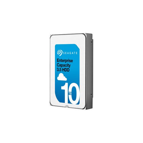 "Seagate Enterprise Capacity 3.5 HDD V.6 (Helium) ST10000NM0216 - Hard drive - encrypted - 10 TB - internal - 3.5"" - SAS 12Gb/s - 7200 rpm - buffer: 256 MB - Self-Encrypting Drive (SED)"