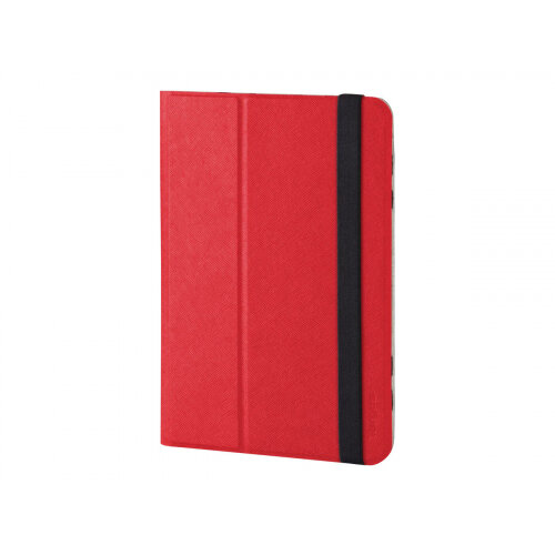Targus Universal Foliostand - Flip cover for tablet - polyurethane - red