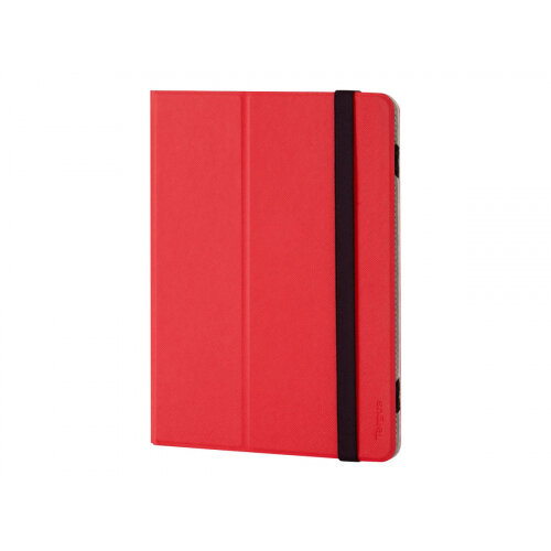 Targus Foliostand - Flip cover for tablet - polyurethane - red