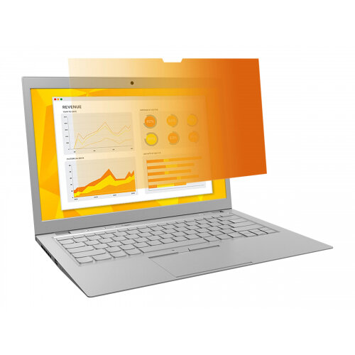 """3M Gold Privacy Filter for 15.6"""" Widescreen Laptop - Notebook privacy filter - 15.6"""" wide - gold"""