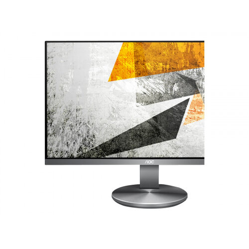 "AOC I2490VXQ - LED Computer Monitor - 23.8"" - 1920 x 1080 Full HD (1080p) - IPS - 1000:1 - 4 ms - HDMI, VGA, DisplayPort - speakers"