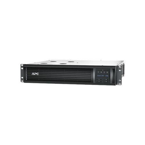 APC Smart-UPS 3000VA LCD RM - UPS (rack-mountable) - AC 230 V - 2700 Watt - 3000 VA - Ethernet, RS-232, USB - output connectors: 9 - 2U - black - with APC UPS Network Management Card