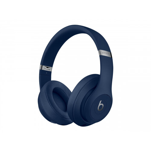 Beats Studio3 Wireless - Headphones with mic - full size - Bluetooth - wireless - active noise cancelling - noise isolating - blue - for 10.5-inch iPad Pro; 12.9-inch iPad Pro; 9.7-inch iPad (5th generation, 6th generation); 9.7-inch iPad Pro; iPad Air; i