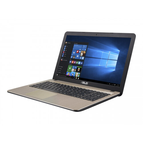 """ASUS VivoBook 15 X540UA-GQ024T - Core i5 7200U / 2.5 GHz - Win 10 Home 64-bit - 8 GB RAM - 1 TB HDD - 15.6"""" 1366 x 768 (HD) - HD Graphics 620 - 802.11ac - chocolate black IMR with hairline (LCD cover), gold IMR with hairline (top)"""