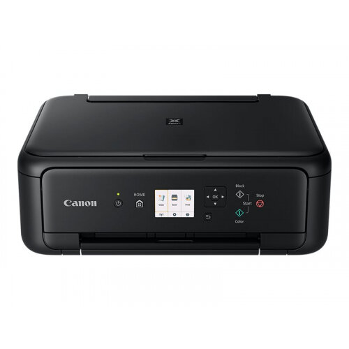 Canon PIXMA TS5150 - Multifunction printer - colour - ink-jet - 216 x 297 mm (original) - A4/Legal (media) - up to 13 ipm (printing) - 120 sheets - USB 2.0, Wi-Fi(n), Bluetooth - black