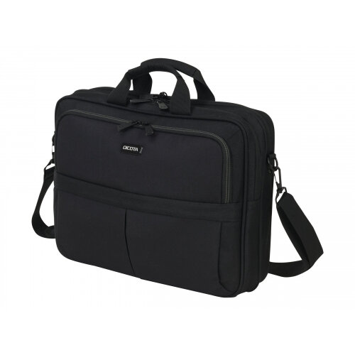 """Dicota Top Traveller SCALE - Notebook carrying case - Laptop Bag - 15.6"""" - black"""
