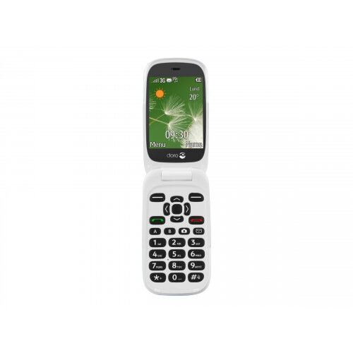 Doro 6520 - Mobile phone - 3G - microSDHC slot - GSM - 320 x 240 pixels - 2 MP