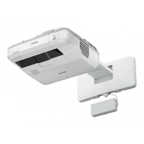 Epson EB-710Ui - 3LCD Multimedia Projector - 4000 lumens (white) - 4000 lumens (colour) - WUXGA (1920 x 1200) - 16:10 - 1080p - ultra short-throw lens - LAN