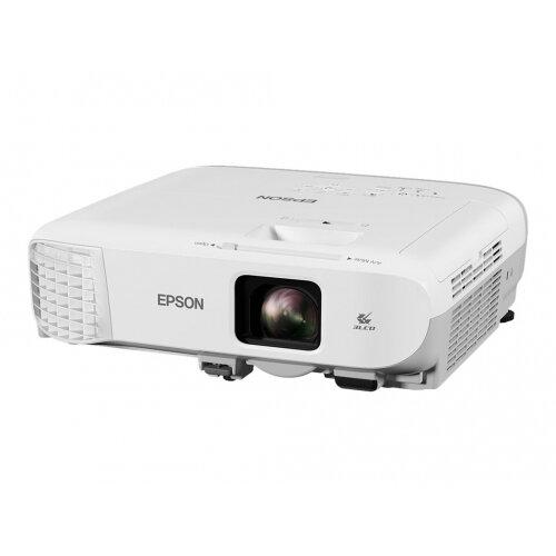 Epson EB-980W - 3LCD Multimedia Projector - 3800 lumens (white) - 3800 lumens (colour) - WXGA (1280 x 800) - 16:10 - 720p - LAN