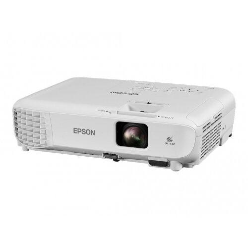 Epson EB-W05 - 3LCD Multimedia Projector - portable - 3300 lumens (white) - 3300 lumens (colour) - WXGA (1280 x 800) - 16:10 - 720p