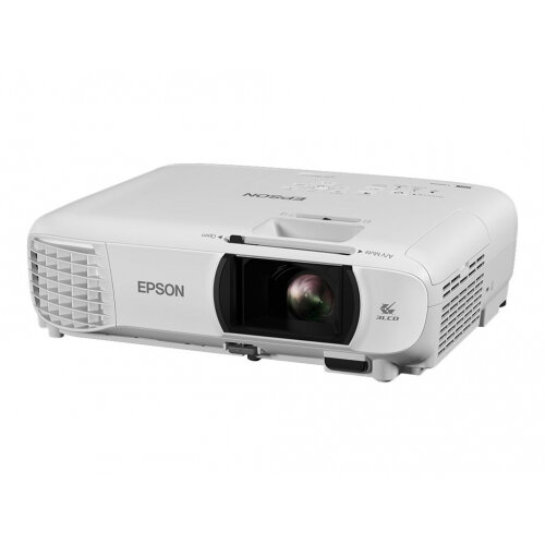 Epson EH-TW650 - 3LCD Multimedia Projector - portable - 3100 lumens (white) - 3100 lumens (colour) - Full HD (1920 x 1080) - 16:9 - 1080p - 802.11n wireless