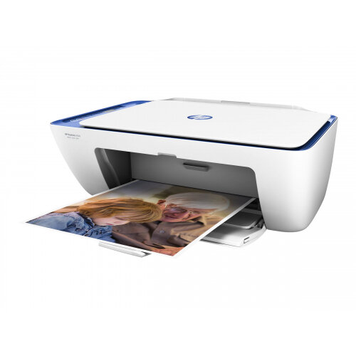 HP Deskjet 2630 All-in-One - Multifunction printer - colour - ink-jet - Letter A (216 x 279 mm)/A4 (210 x 297 mm) (original) - A4/Legal (media) - up to 6 ppm (copying) - up to 20 ppm (printing) - 60 sheets - USB 2.0, Wi-Fi