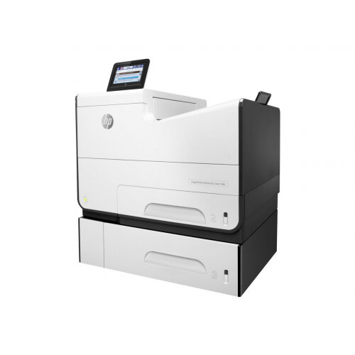 HP PageWide Enterprise Color 556xh - Printer - colour - Duplex - page wide array - A4/Legal - 1200 x 1200 dpi - up to 75 ppm (mono) / up to 75 ppm (colour) - capacity: 1050 sheets - USB 2.0, Gigabit LAN, Wi-Fi(n), NFC, USB 2.0 host