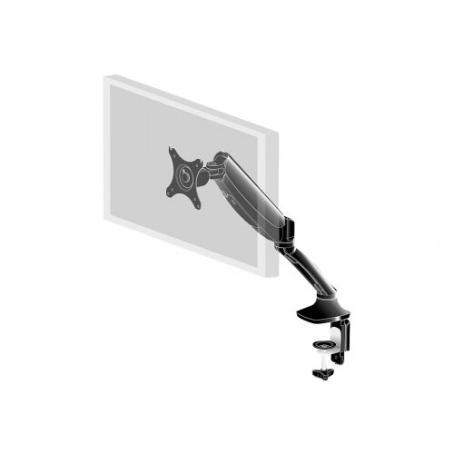 "Iiyama DS3001C-B1 - Adjustable arm for Monitor - black - screen size: 10""-27"" - desk-mountable - for ProLite E2783QSU-B1, XU2495WSU-B1"