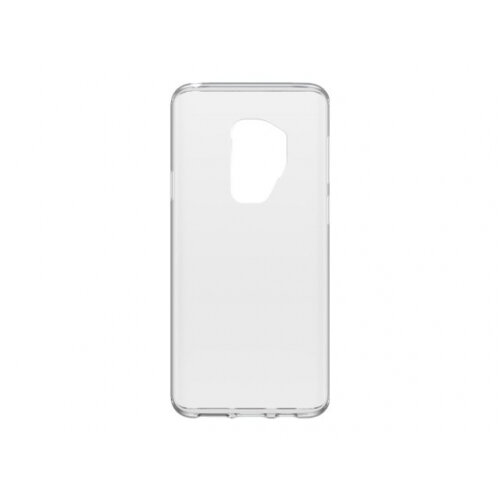 OtterBox Clearly Protected Skin - Back cover for mobile phone - thermoplastic polyurethane - clear - for Samsung Galaxy S9+