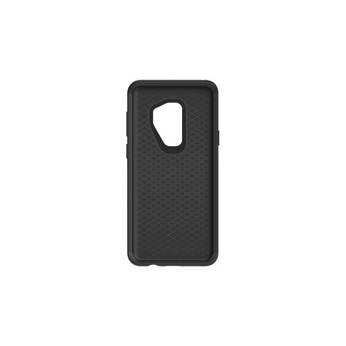 OtterBox Symmetry Series - Back cover for mobile phone - polycarbonate, synthetic rubber - black - for Samsung Galaxy S9+