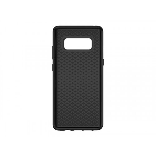 OtterBox Symmetry Series - Back cover for mobile phone - polycarbonate, synthetic rubber - black - for Samsung Galaxy Note8