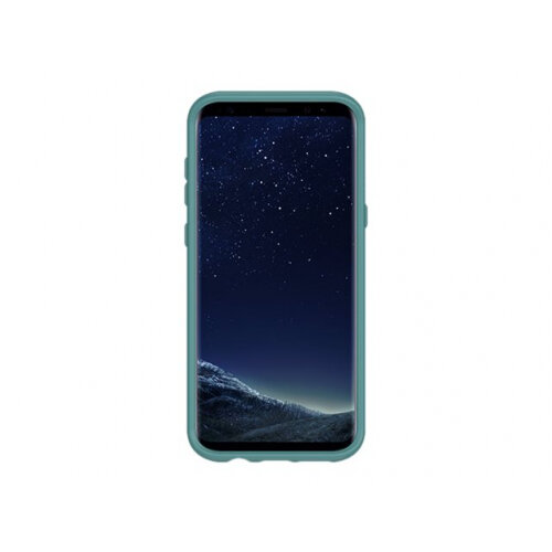 OtterBox Symmetry Series - Back cover for mobile phone - polycarbonate, synthetic rubber - prickly pear - for Samsung Galaxy S8+