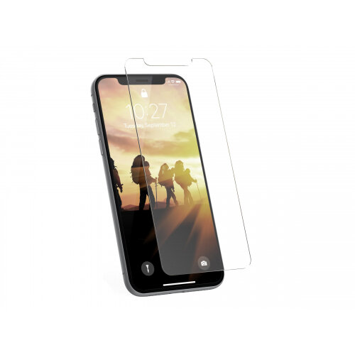 UAG Tempered Glass Screen Shield for iPhone X - Screen protector - clear