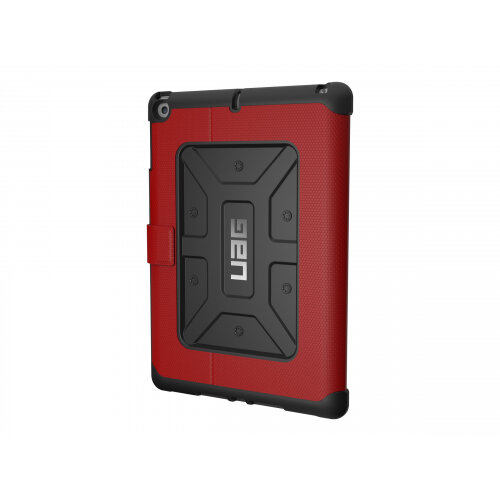UAG Rugged Case for iPad 9.7 (2017 5th Gen &2018 6th Gen) - Case for tablet - rubber - magma - for Apple 9.7-inch iPad (5th generation, 6th generation)