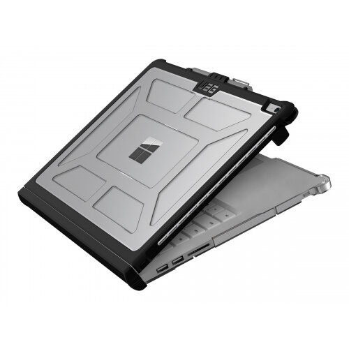 "UAG Rugged Case for Surface Book 2, Surface Book, &Surface Book with Performance Base, 13.5-inch Universal Case - Tablet PC carrying case - 13.5"" - ice (transparent) - for Microsoft Surface Book, Book 2"