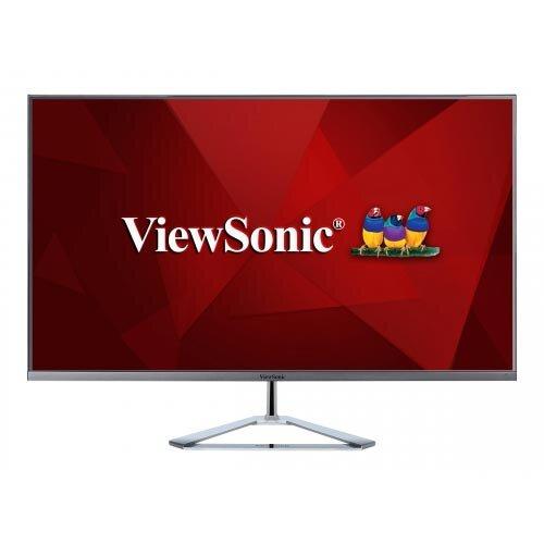 """ViewSonic VX3276-2K-mhd - LED Computer Monitor - 32"""" (31.5"""" viewable) - 2560 x 1440 WQHD - IPS - 250 cd/m² - 1200:1 - 3 ms - 2xHDMI, DisplayPort, Mini DisplayPort - speakers"""