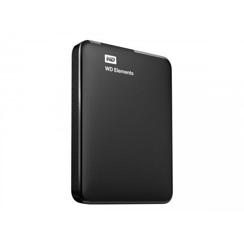 WD Elements Portable WDBU6Y0040BBK - Hard drive - 4 TB - external (portable) - USB 3.0