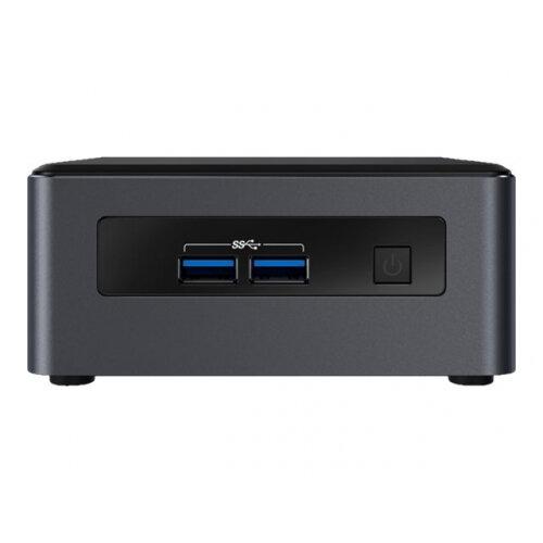 Intel Next Unit of Computing Kit NUC7i5DNKE - Barebone - Mini Desktop PC - 1 x Core i5 7300U / 2.6 GHz - HD Graphics 620 - GigE - WLAN: 802.11a/b/g/n/ac, Bluetooth 4.2 - vPro