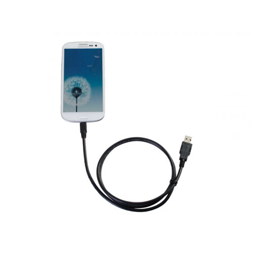 C2G Samsung Galaxy Charge and Sync Cable - Charging / data cable - Micro-USB Type B (M) to USB (M) - 1.83 m - black
