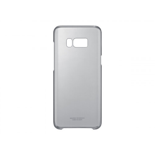 Samsung Clear Cover EF-QG955 - Back cover for mobile phone - black - for Galaxy S8+