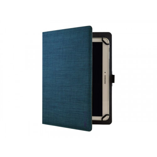 Tech air Universal - Flip cover for tablet - polyester, fabric - textured blue