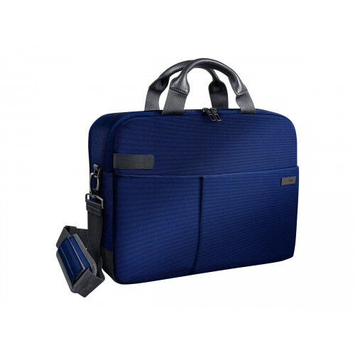 """Leitz Complete Smart Traveller - Notebook carrying case and pouch bag - 15.6"""" - blue"""