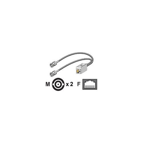 Cisco - Network adapter cable - BNC (M) to RJ-48C (F)