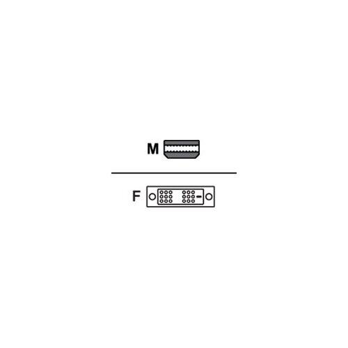 AMD - DisplayPort adapter - Mini DisplayPort (M) to DVI-D (F)