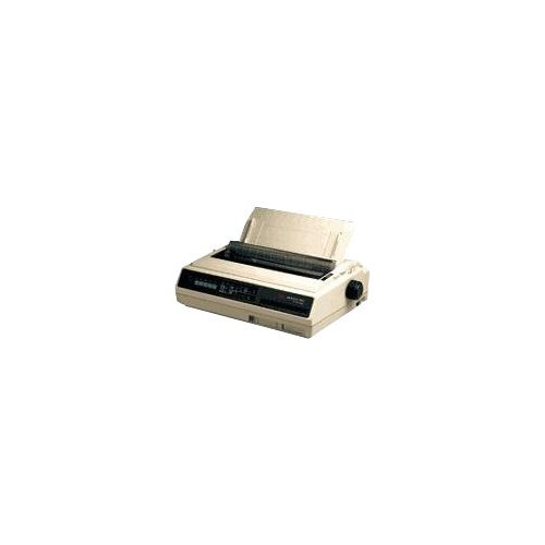 OKI Microline 395B - Printer - monochrome - dot-matrix - 360 dpi - 24 pin - up to 607 char/sec - parallel, serial - white