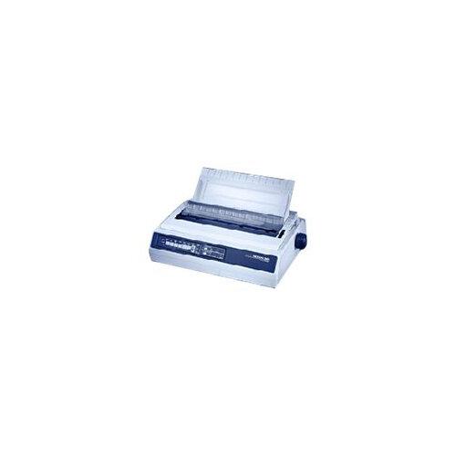 OKI Microline 3410 - Printer - monochrome - dot-matrix - 240 x 216 dpi - 9 pin - up to 550 char/sec - parallel, serial - white