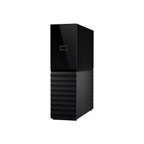 WD My Book WDBBGB0100HBK - Hard drive - encrypted - 10 TB - external (desktop) - USB 3.0 - 256-bit AES - black