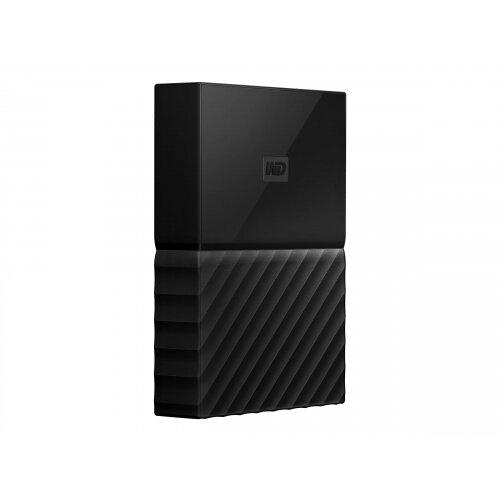 WD My Passport for Mac WDBLPG0020BBK - Hard drive - encrypted - 2 TB - external (portable) - USB 3.0 - 256-bit AES