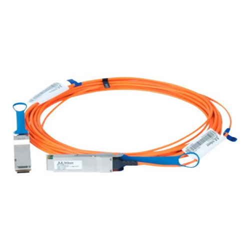 Mellanox LinkX 100Gb/s VCSEL-Based Active Optical Cables - InfiniBand cable - QSFP to QSFP - 5 m - fibre optic - SFF-8665/IEEE 802.3bm - active, halogen-free