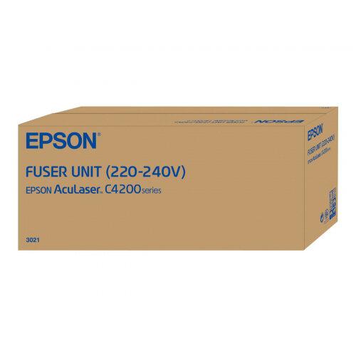 Epson - (220/240 V) - fuser kit - for AcuLaser C4200DN, C4200DNPC5, C4200DNPC5-256MB, C4200DNPC6, C4200DTN, C4200DTNPC6