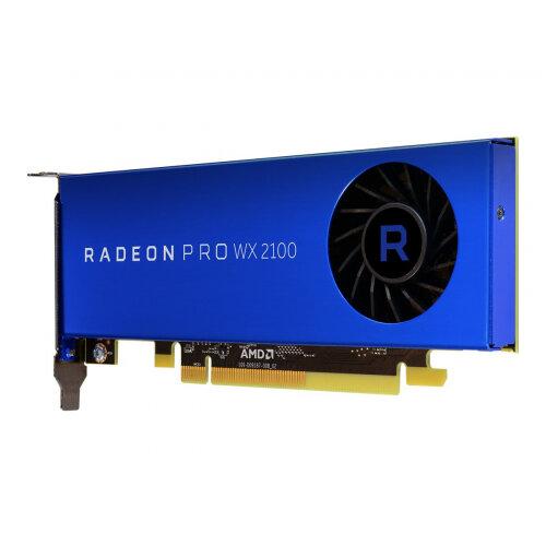 Radeon Pro WX 2100 - Graphics card - Radeon Pro WX 2100 - 2 GB GDDR5 - PCIe 3.0 x16 - 2 x Mini DisplayPort, DisplayPort